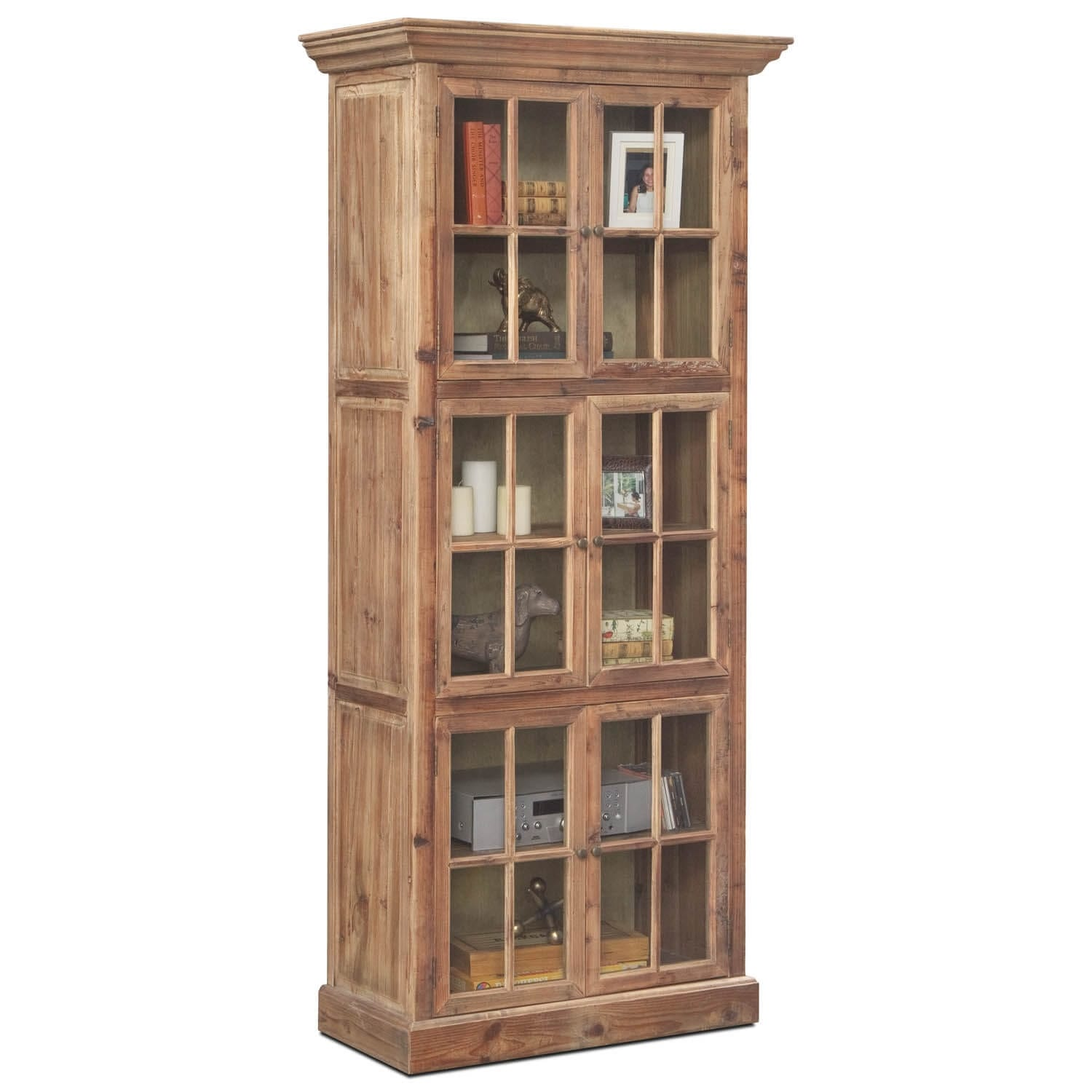 Collins Bookcase - Natural