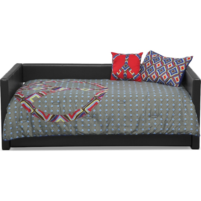 Accent and Occasional Furniture - Peace Sign 3 Pc. Twin Comforter Set