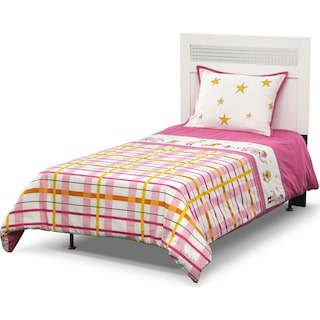 Punky Girl 2 Pc. Twin Comforter Set