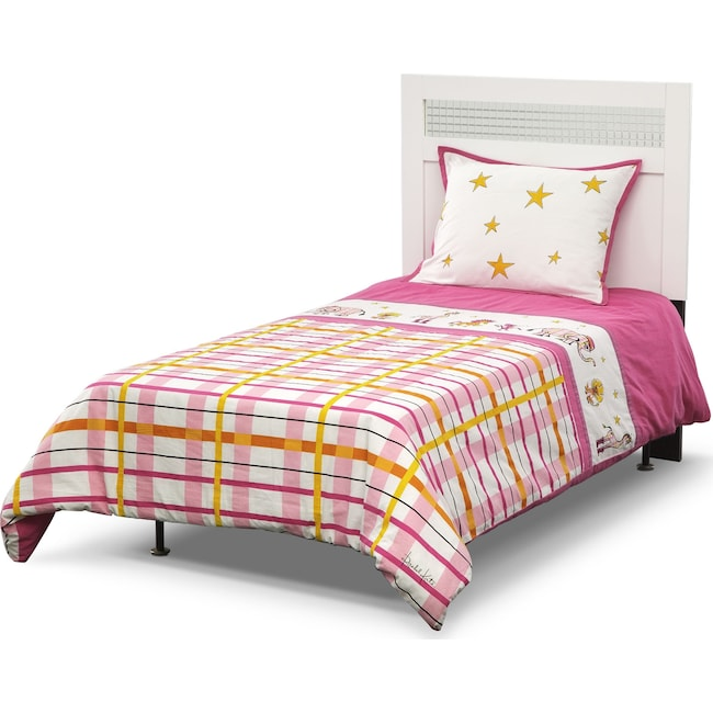 Accent and Occasional Furniture - Punky Girl 3 Pc. Full/Queen Comforter Set