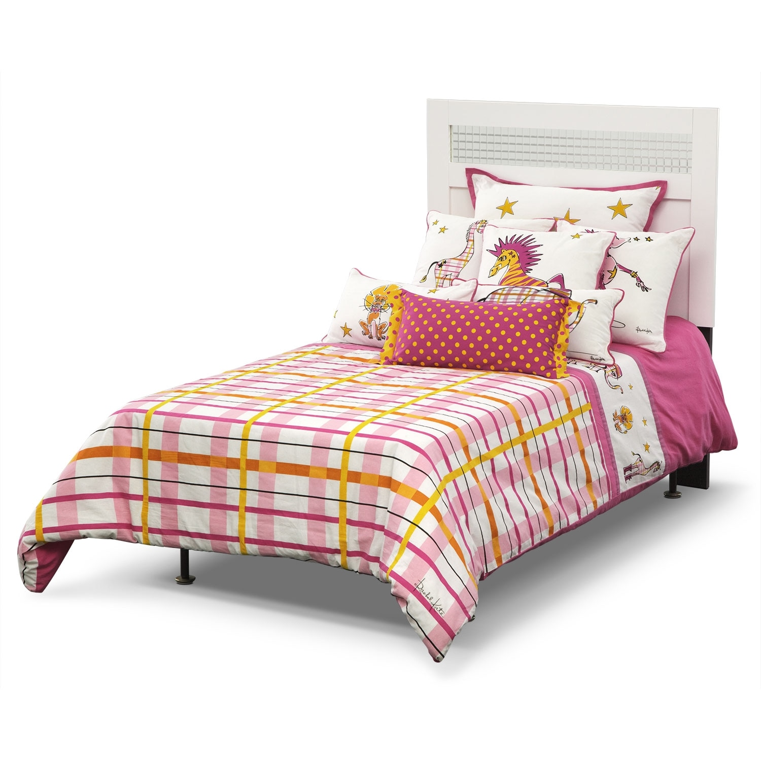 Accent and Occasional Furniture - Punky Girl Twin Bedding Set
