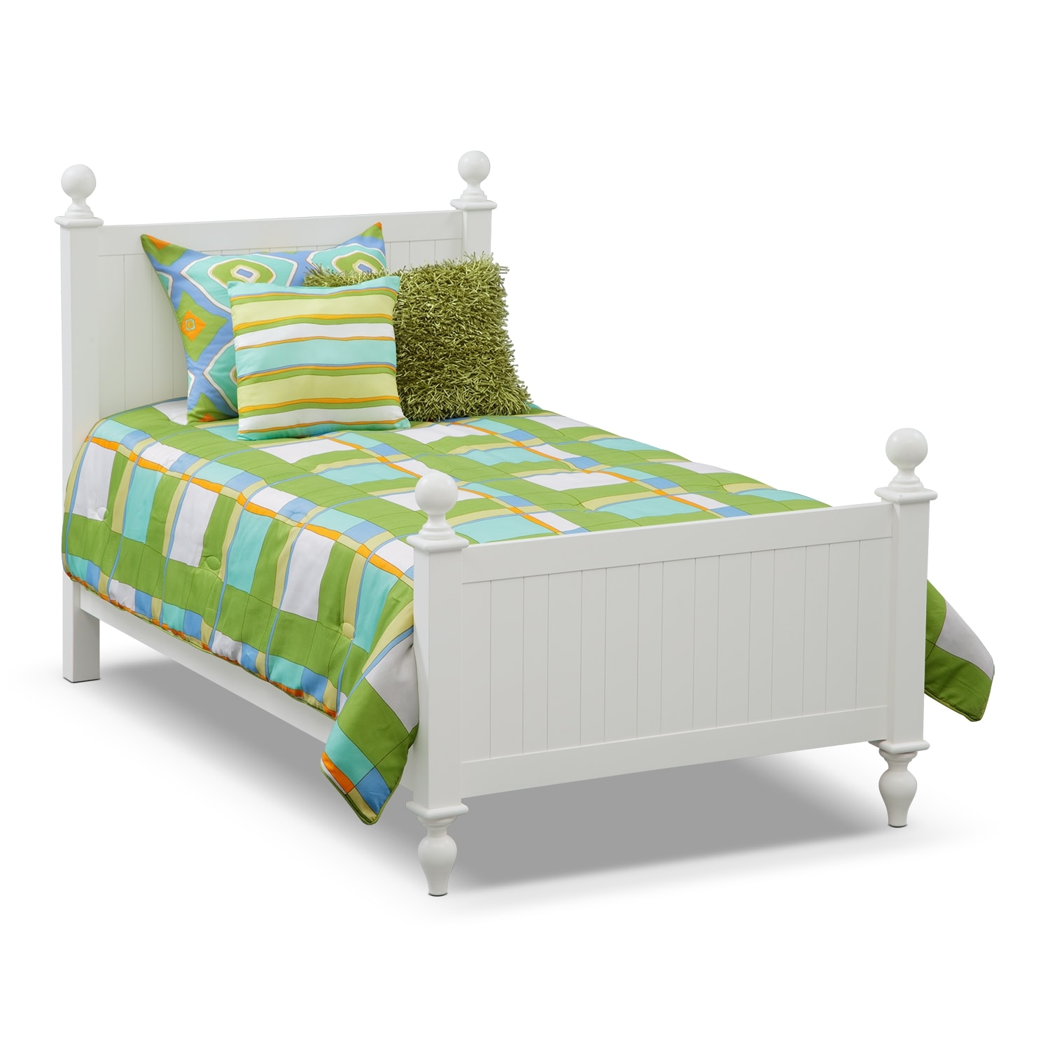 Accent and Occasional Furniture - Dillon Twin Bedding Set