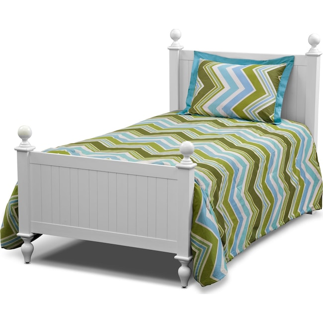 Accent and Occasional Furniture - Happy Chick 3 Pc. Full/Queen Comforter Set