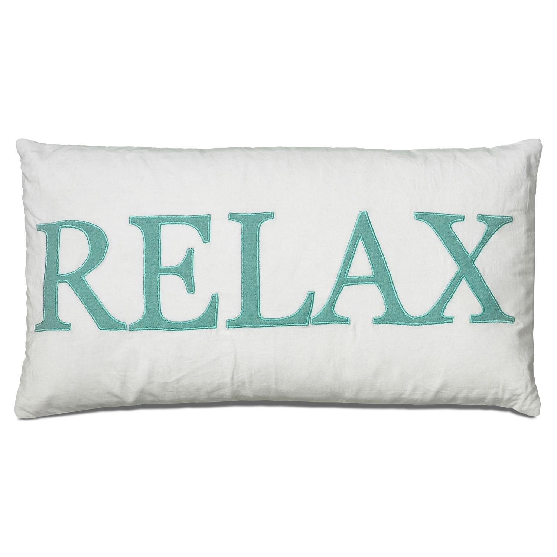 Relax Decorative Pillow