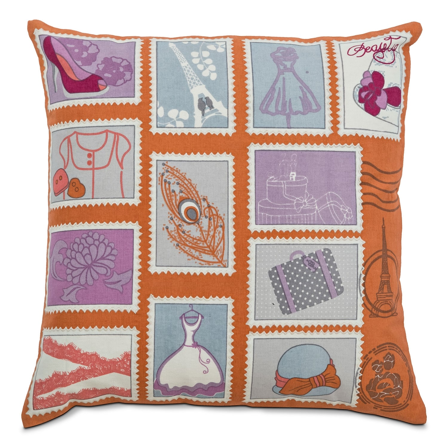 Accent and Occasional Furniture - Avery Decorative Pillow