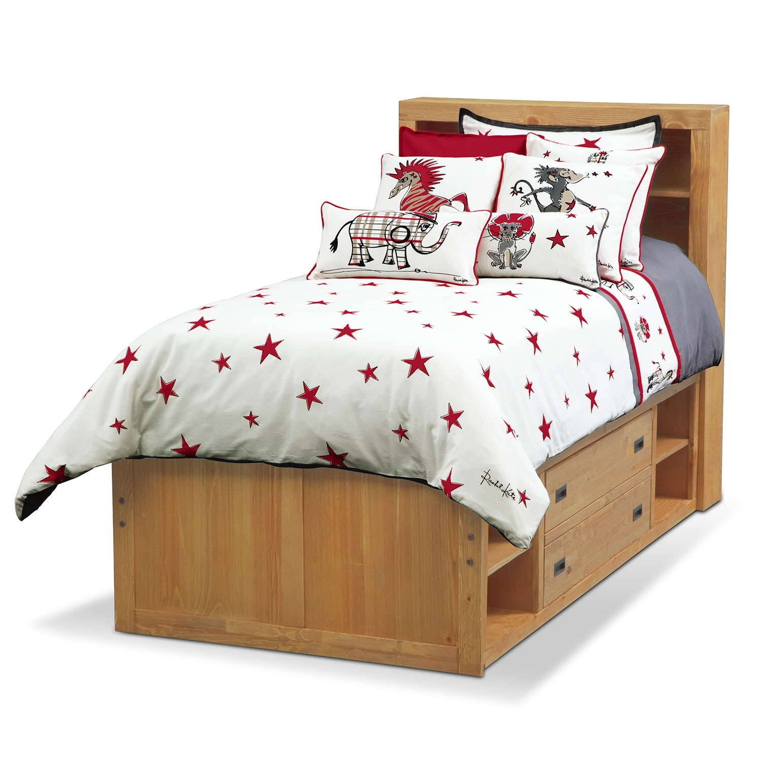 Accent and Occasional Furniture - Punker Boys Twin Bedding Set