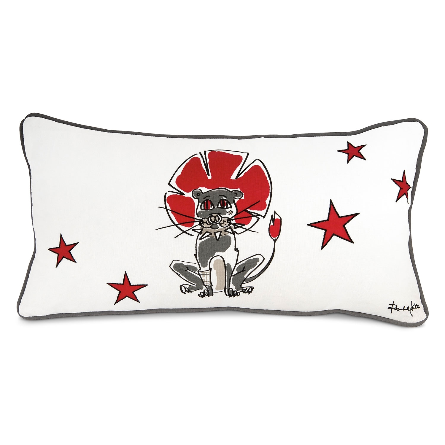 Accent and Occasional Furniture - Punker Lion Decorative Pillow