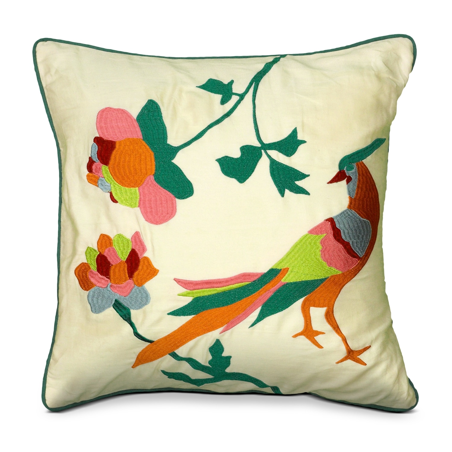 Accent and Occasional Furniture - Linda Decorative Pillow