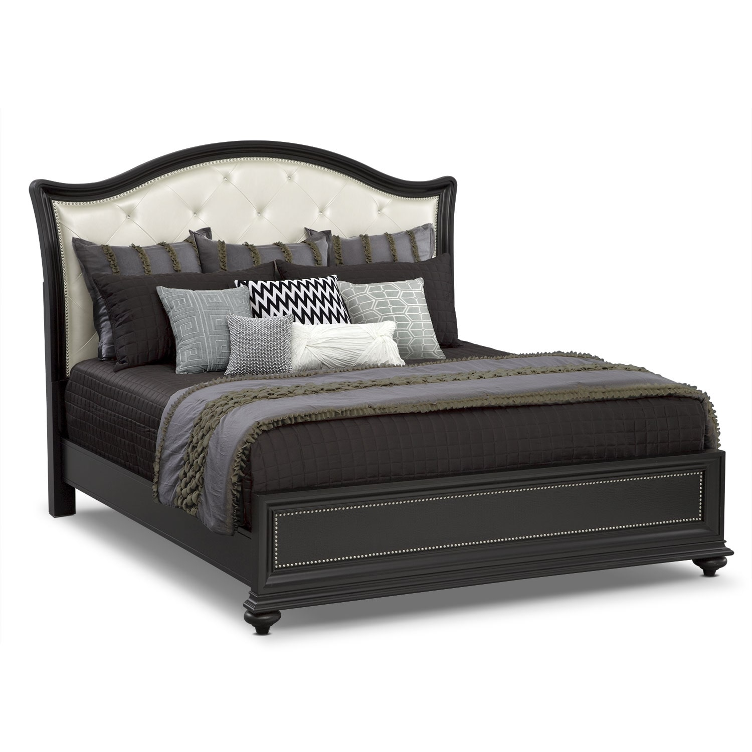 Accent and Occasional Furniture - Caroline II King Bedding Set