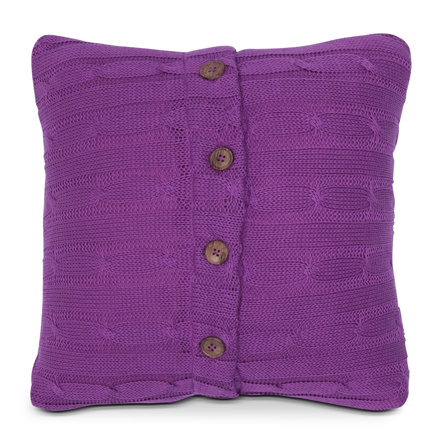 Accent and Occasional Furniture - Raspberry Decorative Pillow