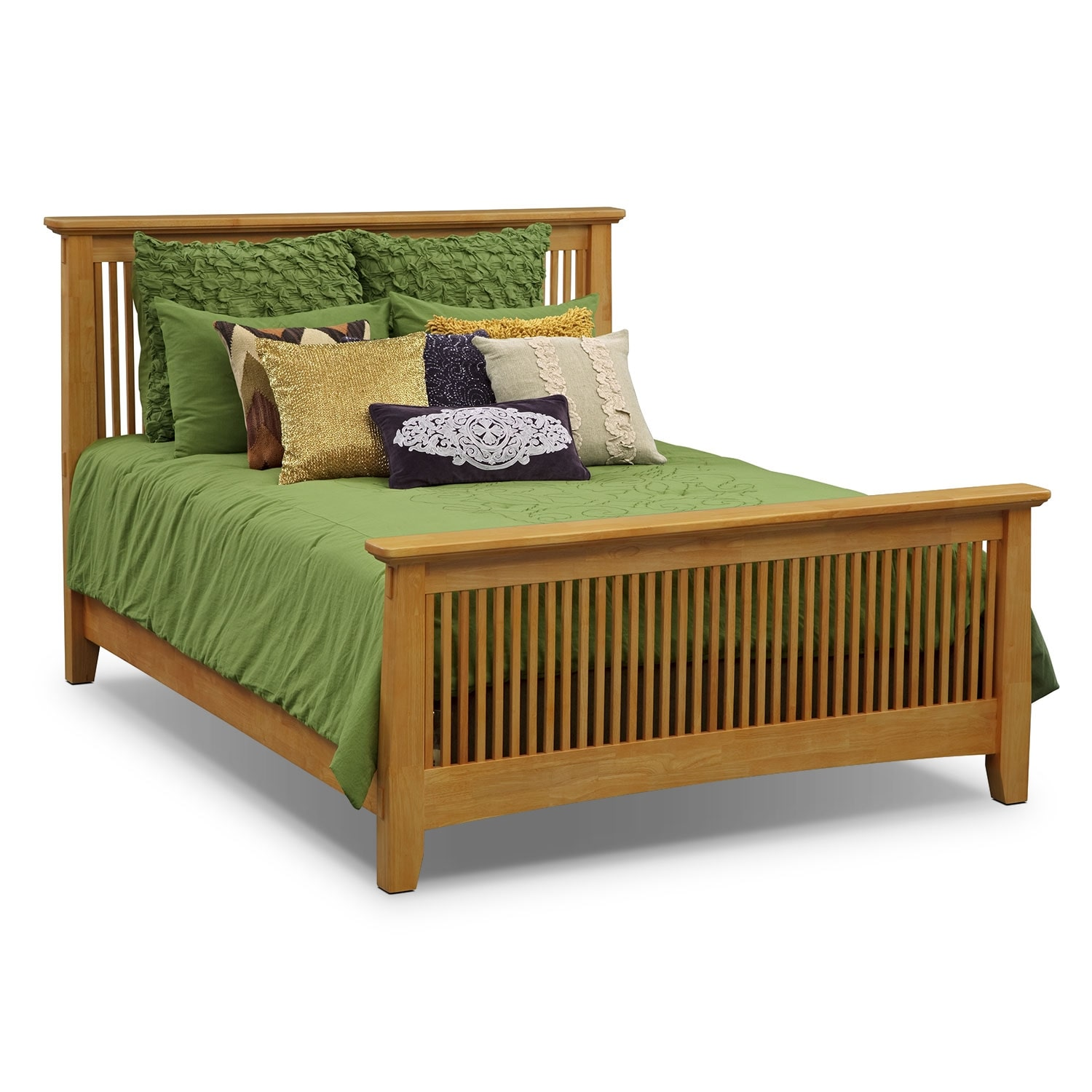 Accent and Occasional Furniture - Zoe II King Bedding Set