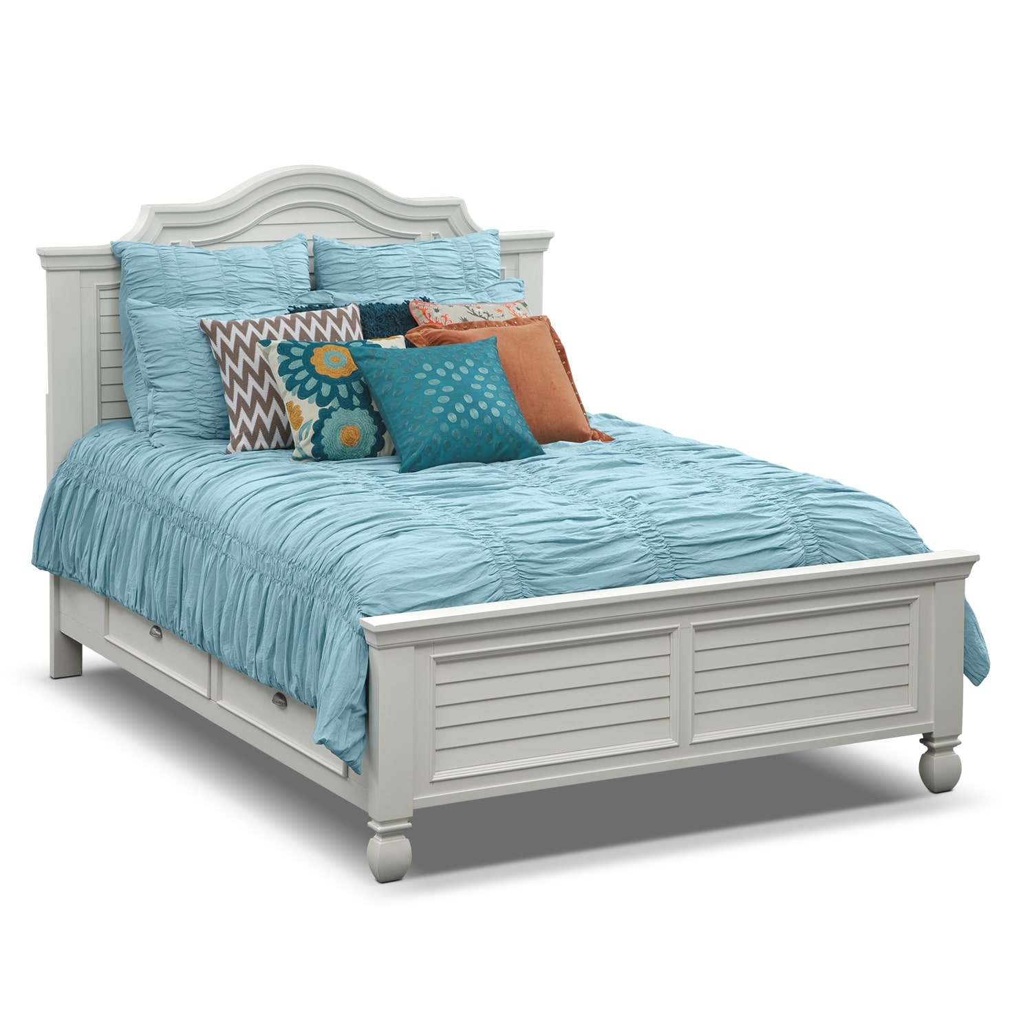 Accent and Occasional Furniture - Gillian II King Bedding Set