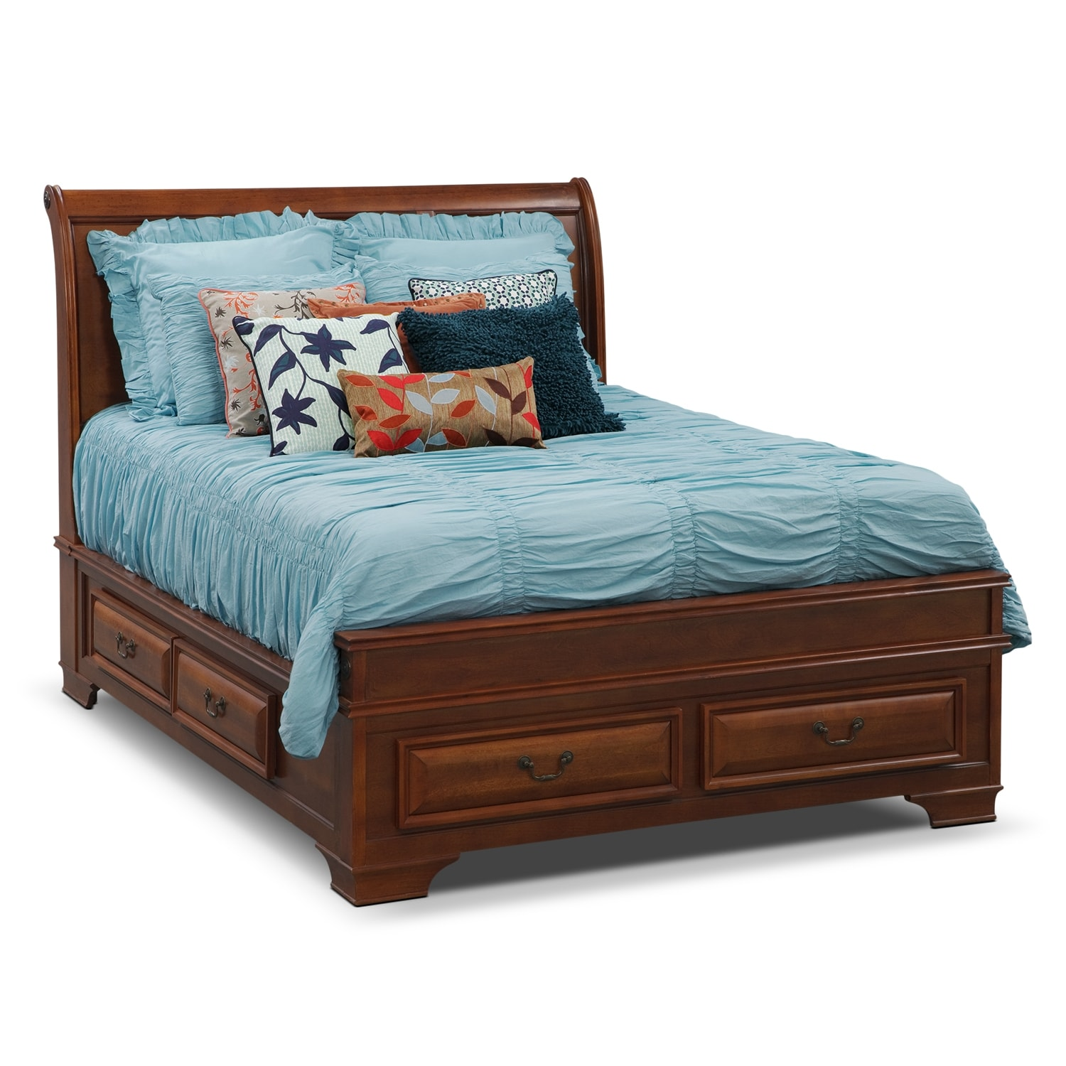 Accent and Occasional Furniture - Gillian III King Bedding Set