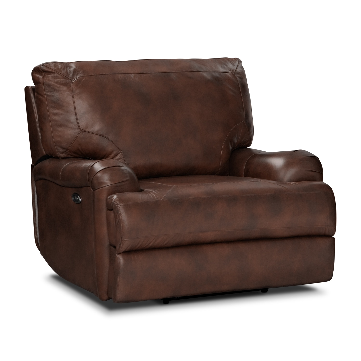 Kingsway Power Recliner Brown