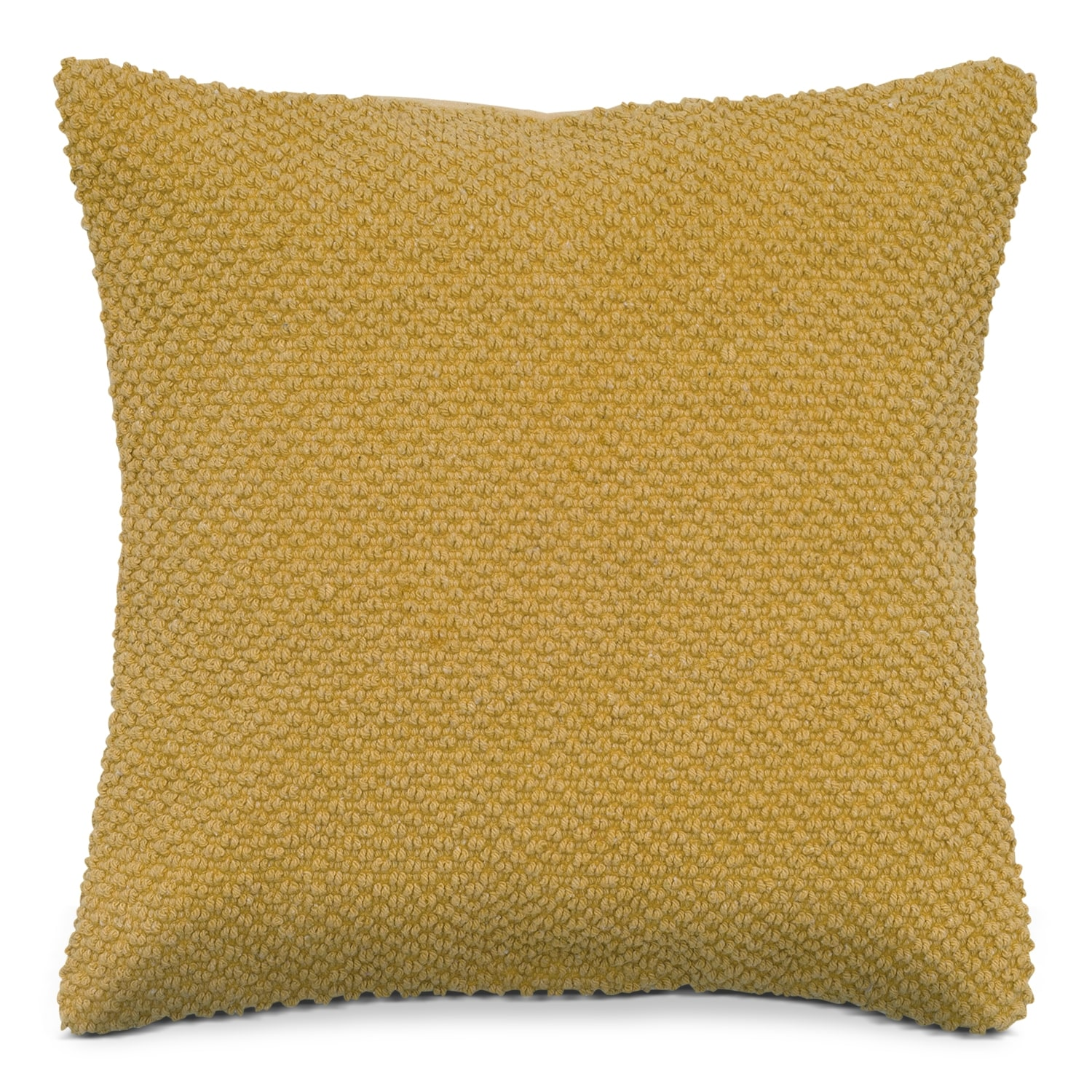 Accent and Occasional Furniture - Gold Decorative Pillow