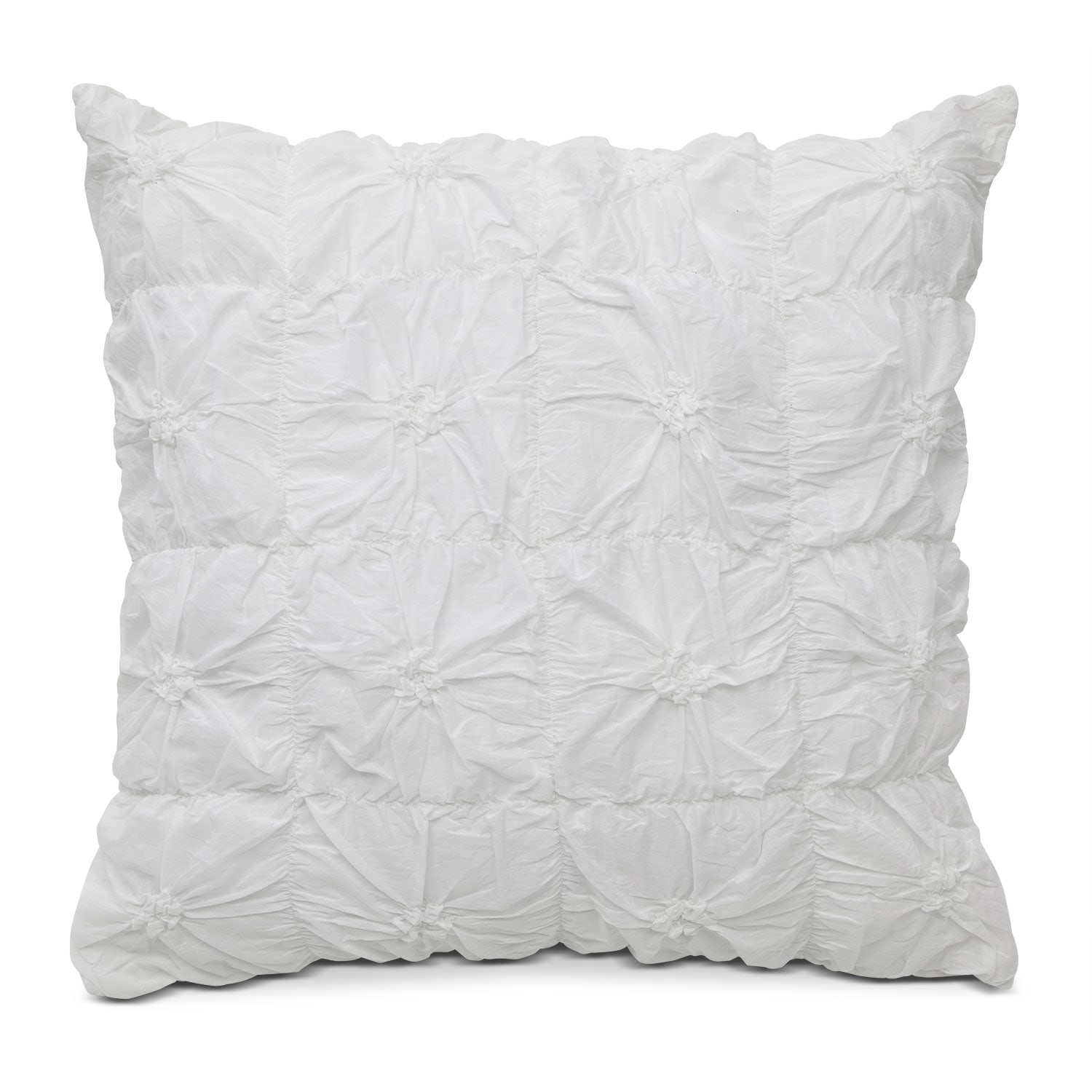 Accent and Occasional Furniture - Erin Euro Sham - White