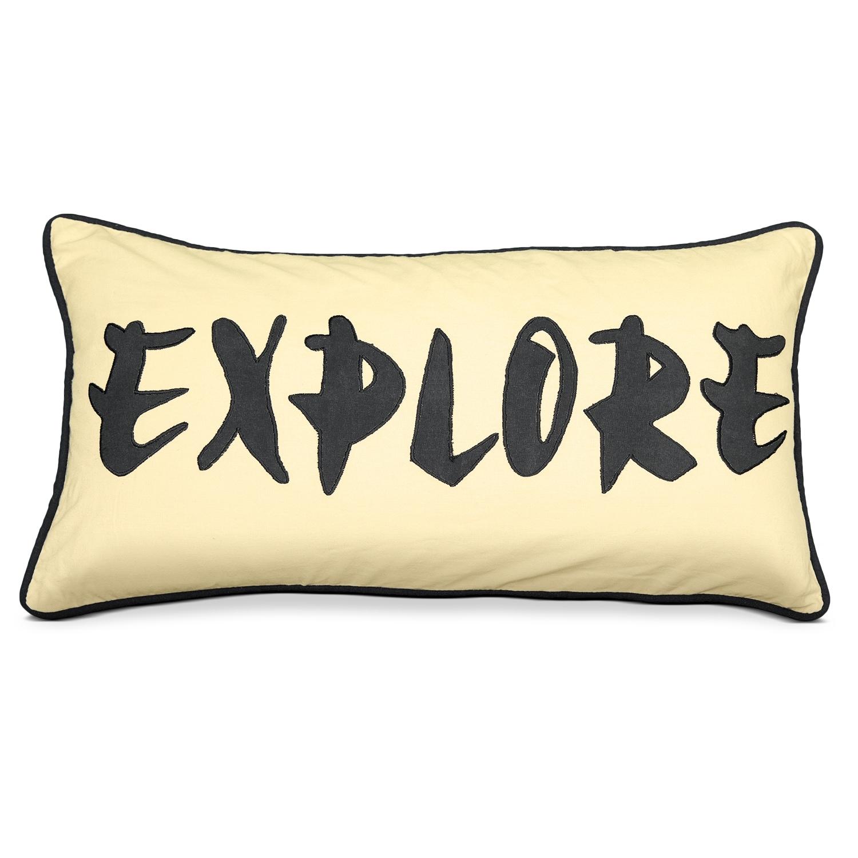 Travel Tan Decorative Pillow