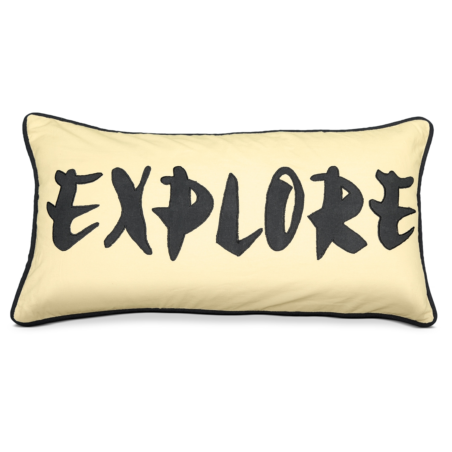 Accent and Occasional Furniture - Travel Tan Decorative Pillow