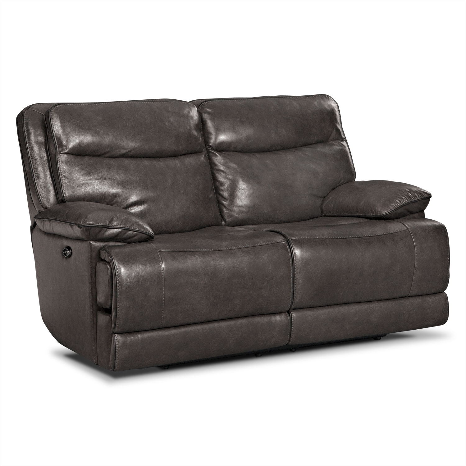Living Room Furniture - Monaco Power Reclining Loveseat