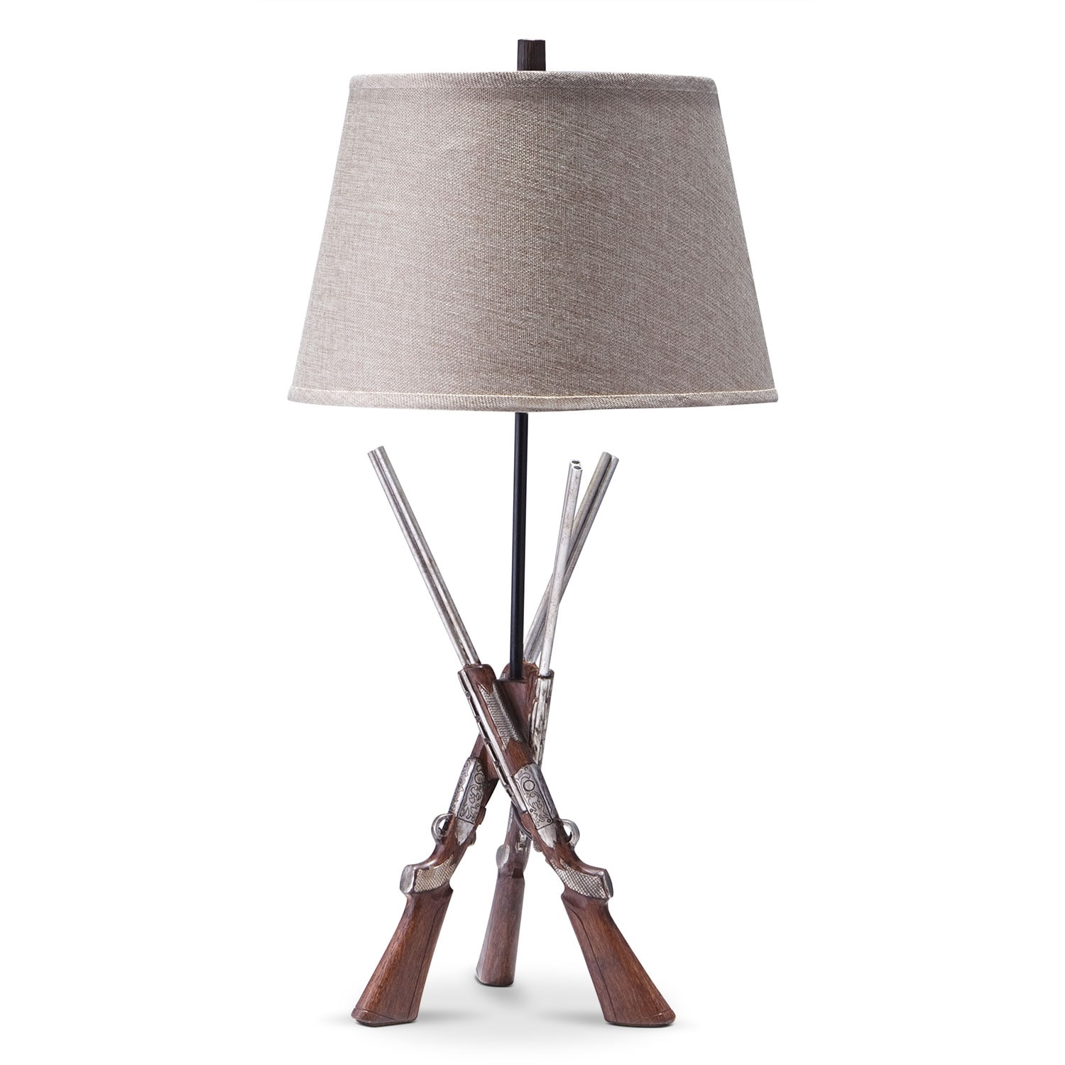 Shotguns Table Lamp | Value City Furniture