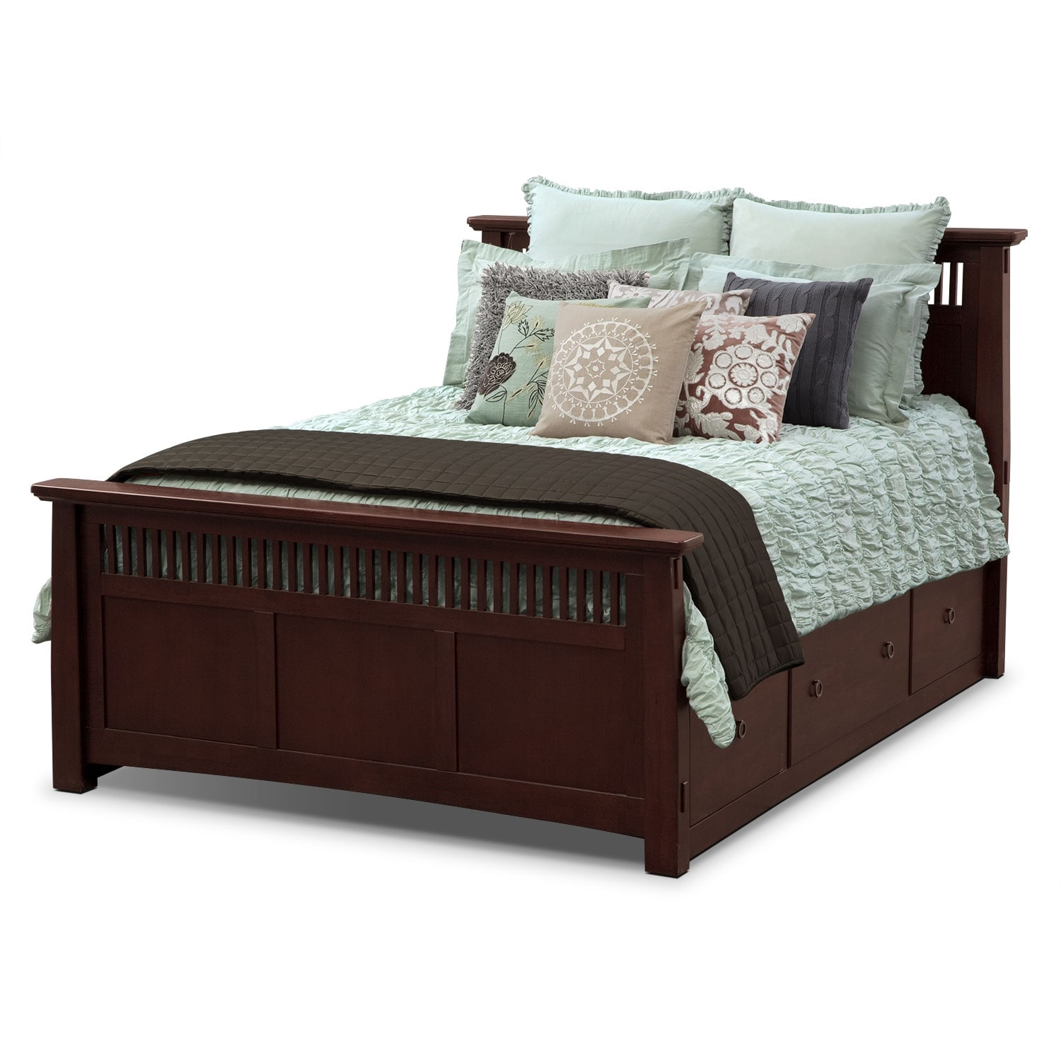 Accent and Occasional Furniture - Kaitlin II Queen Bedding Set