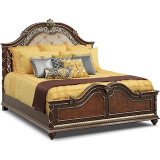 Janice 3-Piece Queen Quilt Set - Chocolate