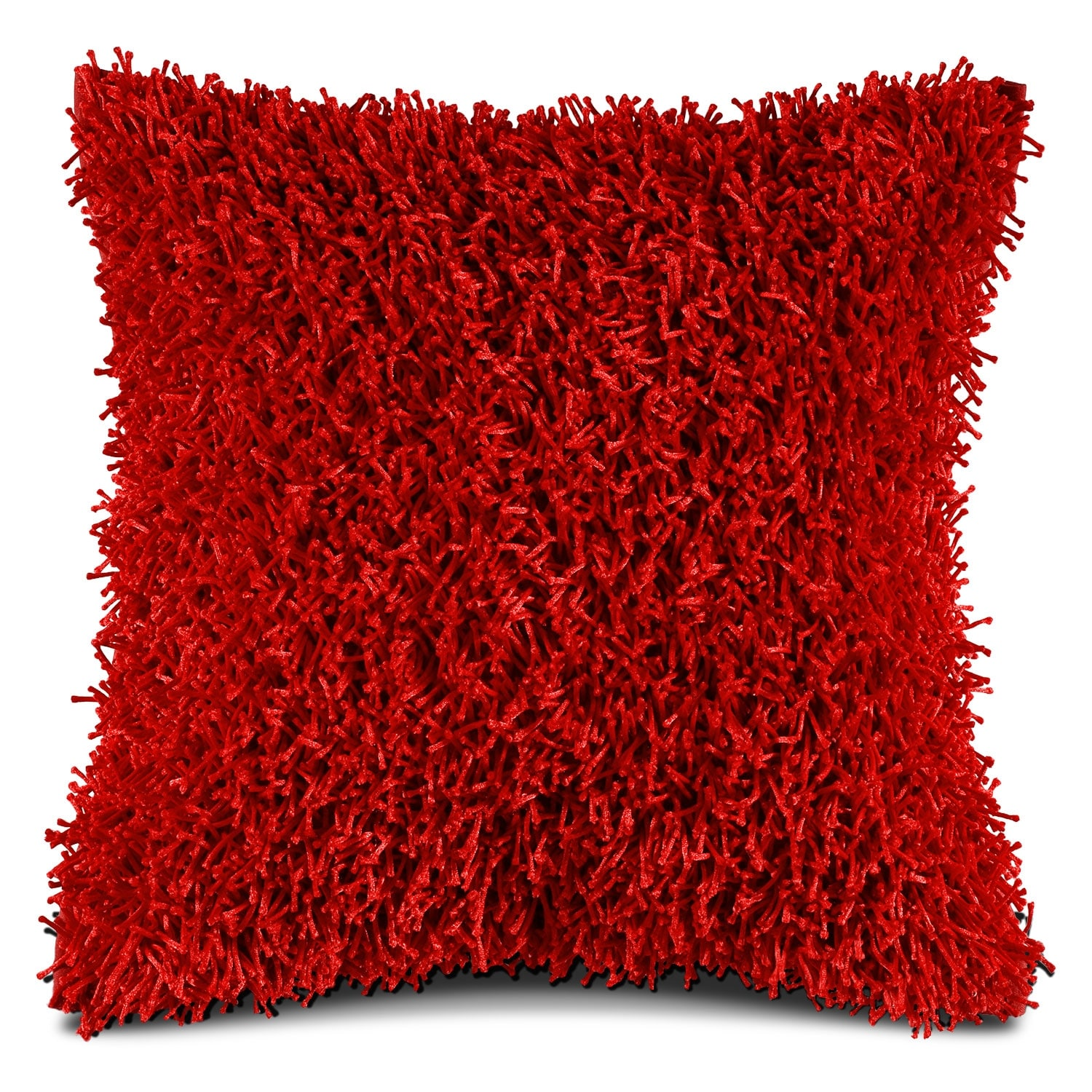 Accent and Occasional Furniture - Shag Rust Decorative Pillow