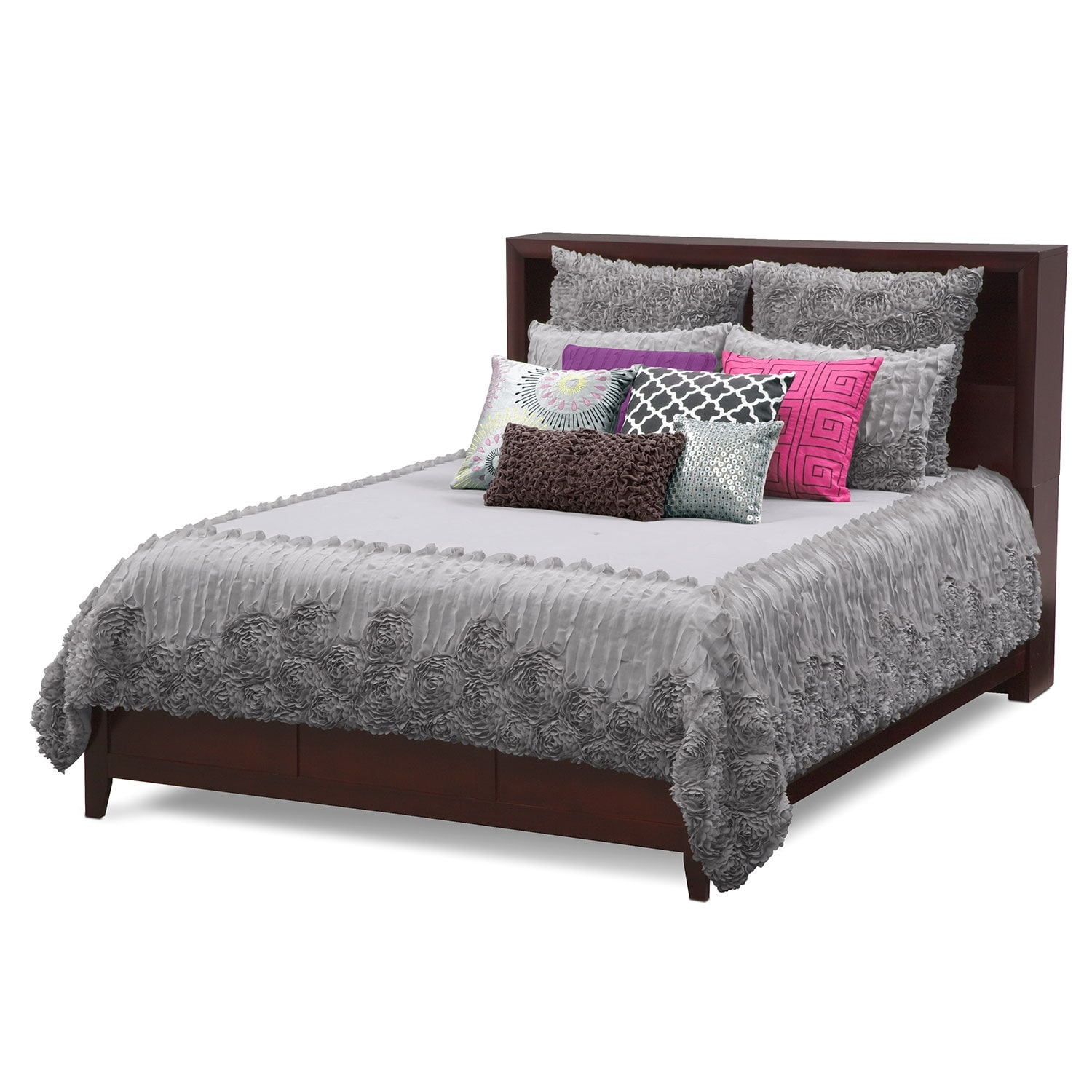 Accent and Occasional Furniture - Sweet Georgia II Queen Bedding Set