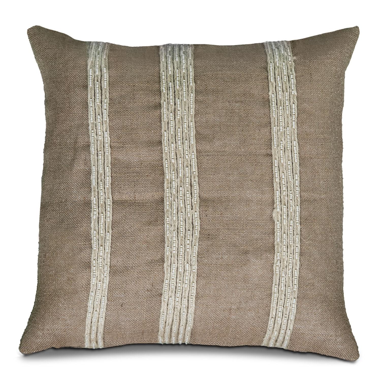 Natural Stripes Decorative Pillow