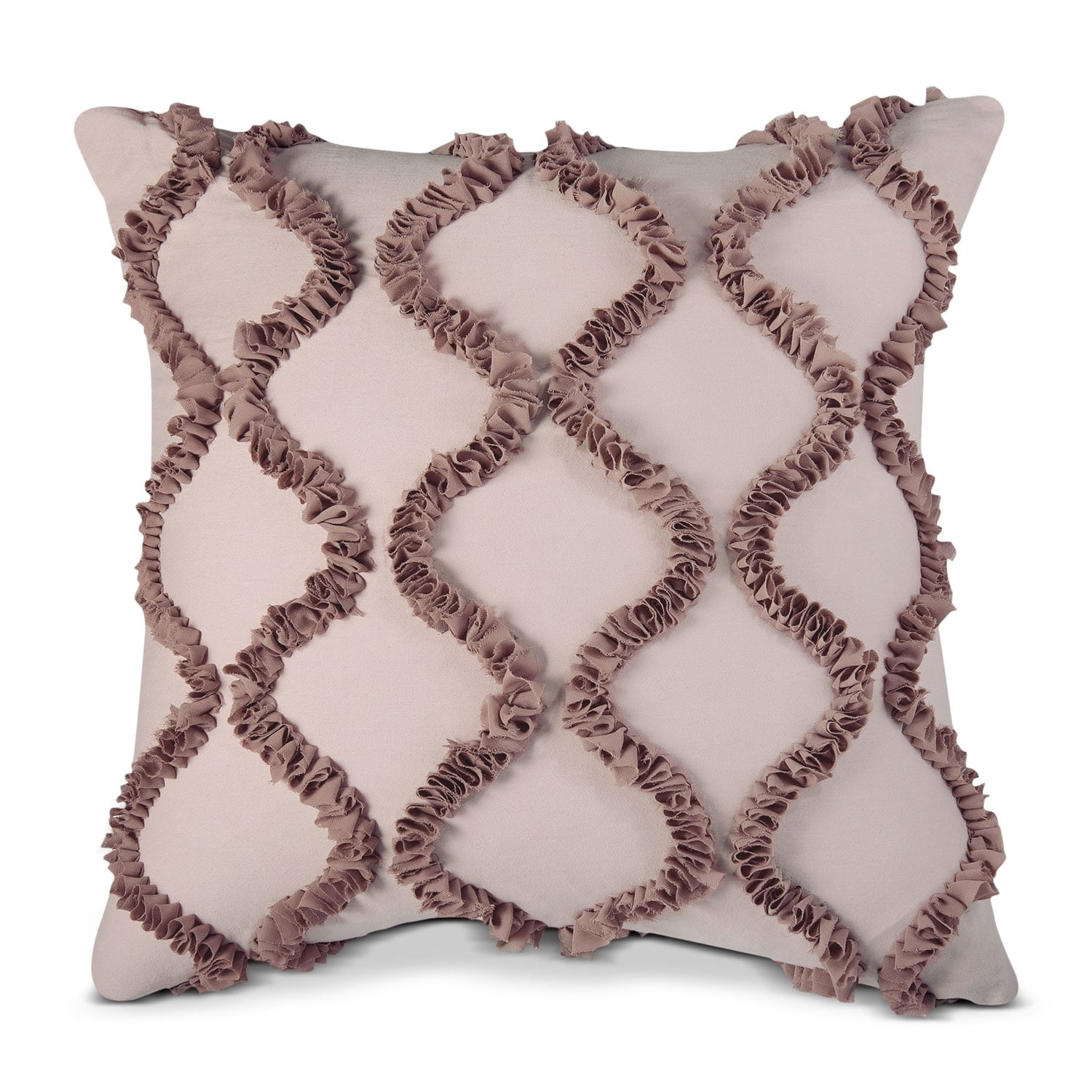 Accent and Occasional Furniture - Hush Beige Decorative Pillow