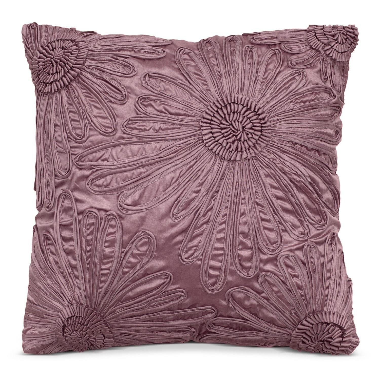 Hush Plum Decorative Pillow