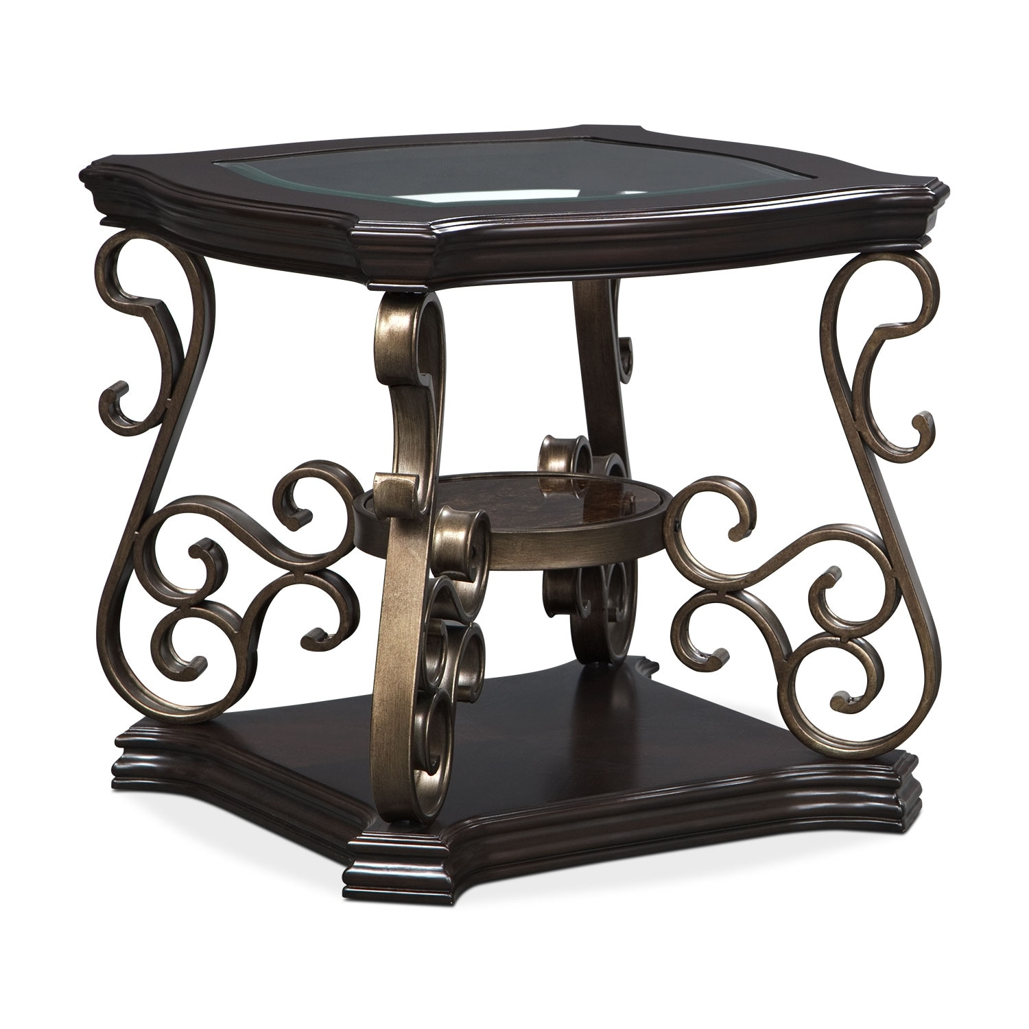 Accent And Occasional Furniture   Valencia End Table   Cherry