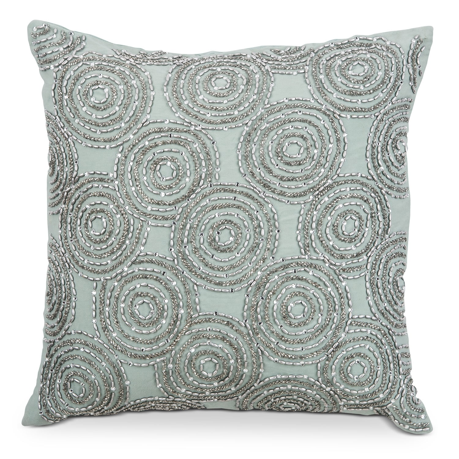 Poly Quilt Spa Gold Decorative Pillow