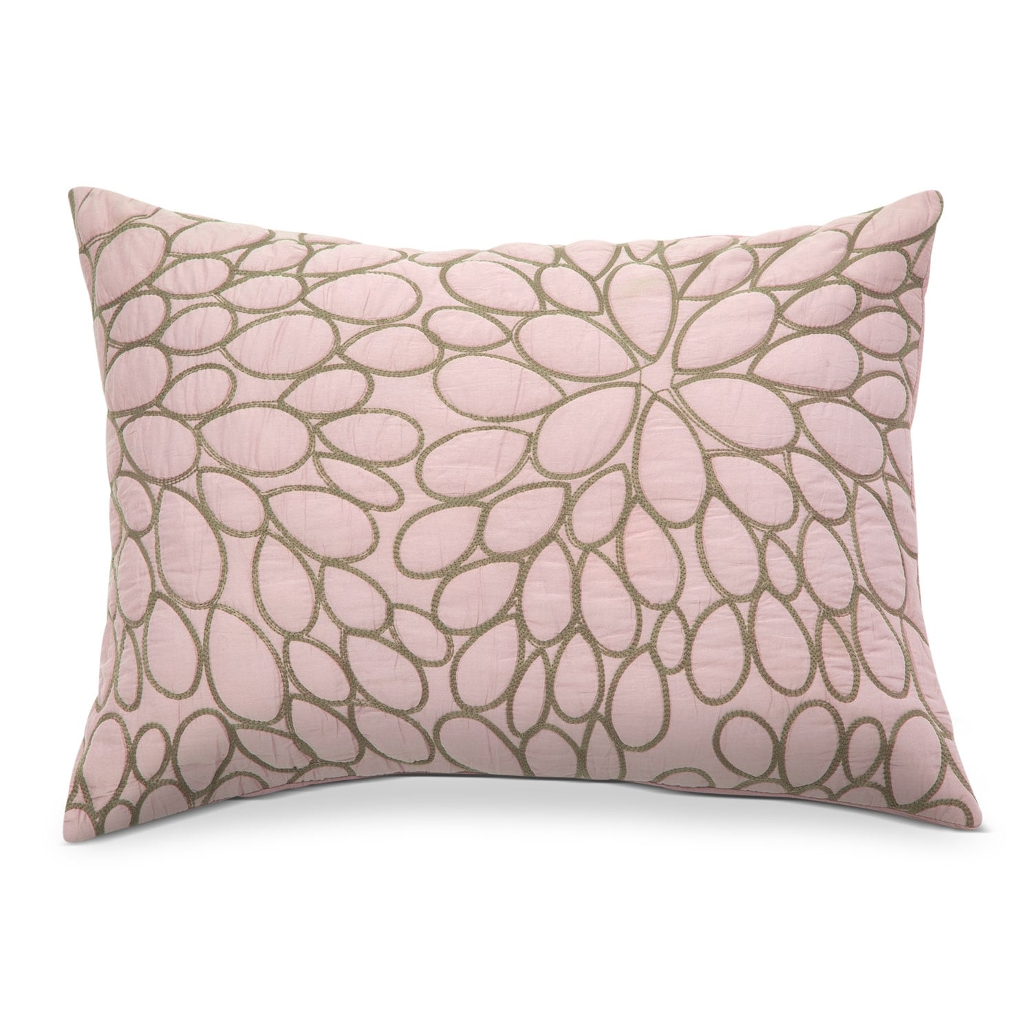 Petal Blush King Quilted Sham