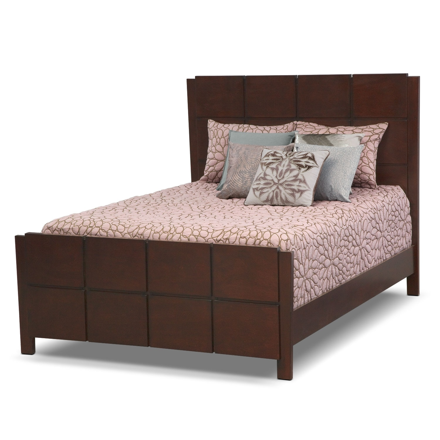 Accent and Occasional Furniture - Petal Blush Queen Bedding Set