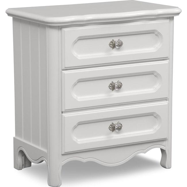 Kids Furniture - Carly Nightstand - White