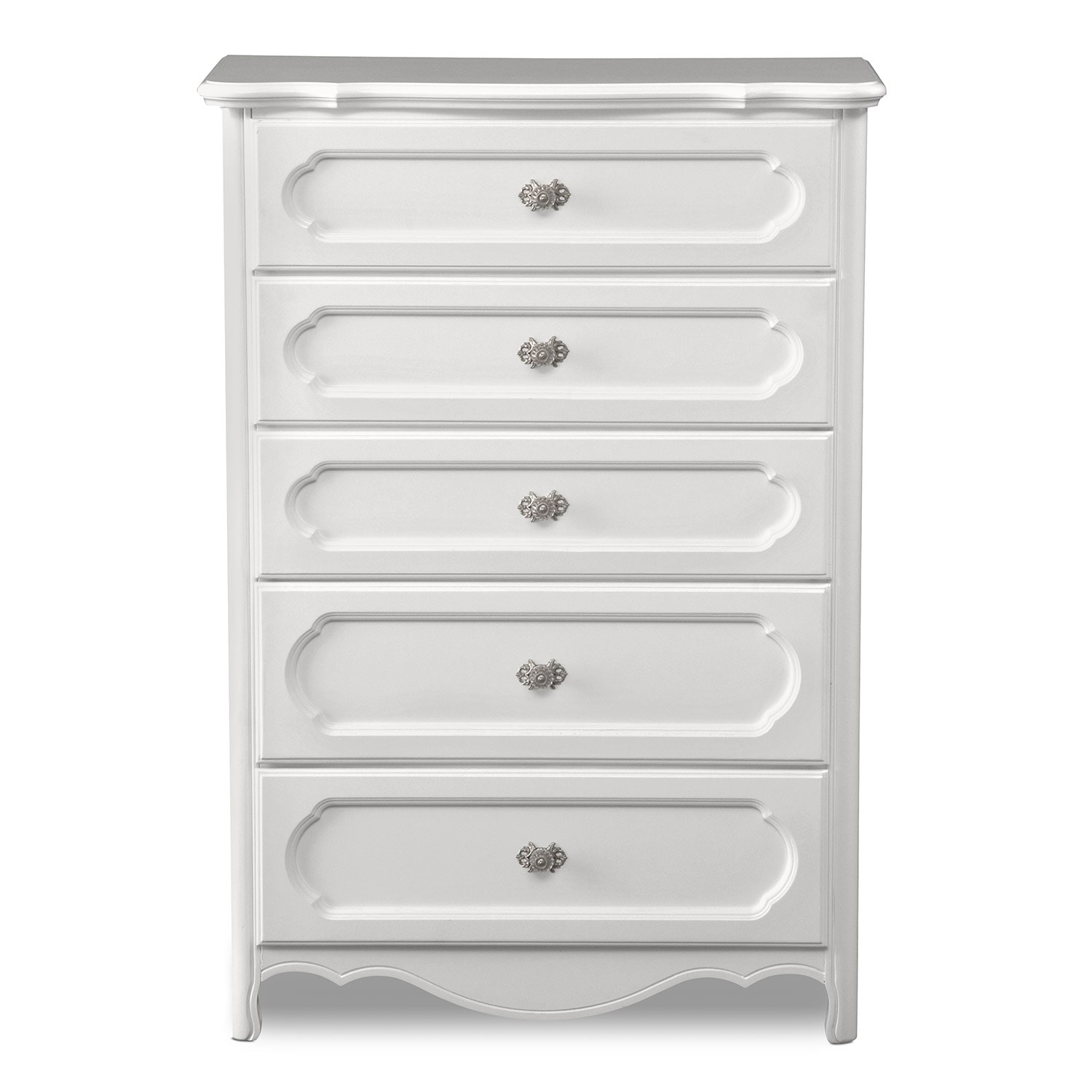 Carly Chest White