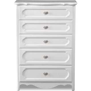 Carly Chest - White