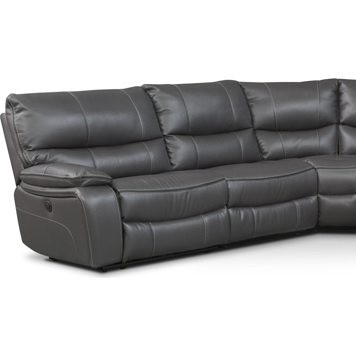 Orlando 5-Piece Power Reclining Sectional with 3 Reclining Seats