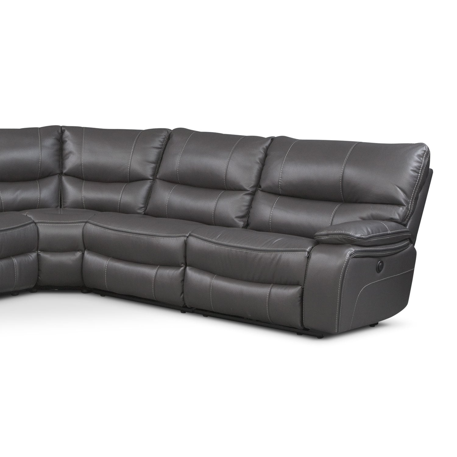 Orlando 6 Piece Power Reclining Sectional With 2