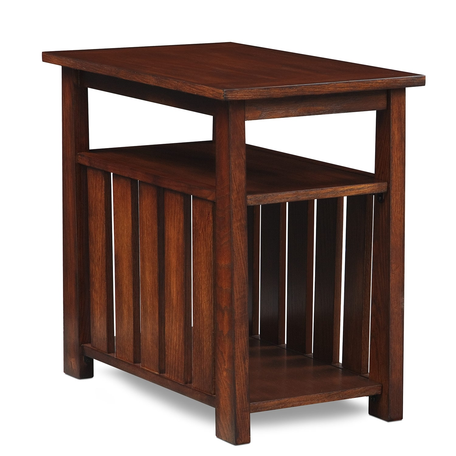 Tribute Chairside Table - Cherry