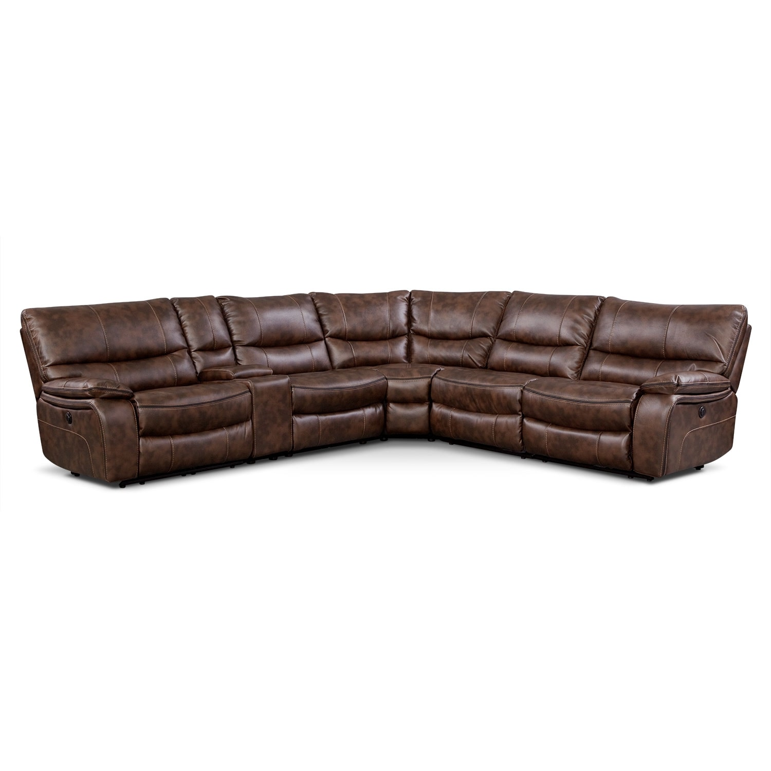 [Orlando II 6 Pc. Power Reclining Sectional]