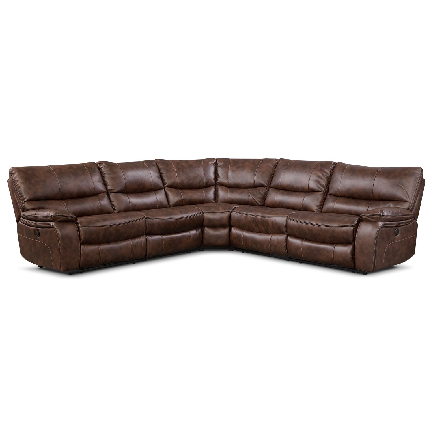 [Orlando II 5 Pc. Power Reclining Sectional]