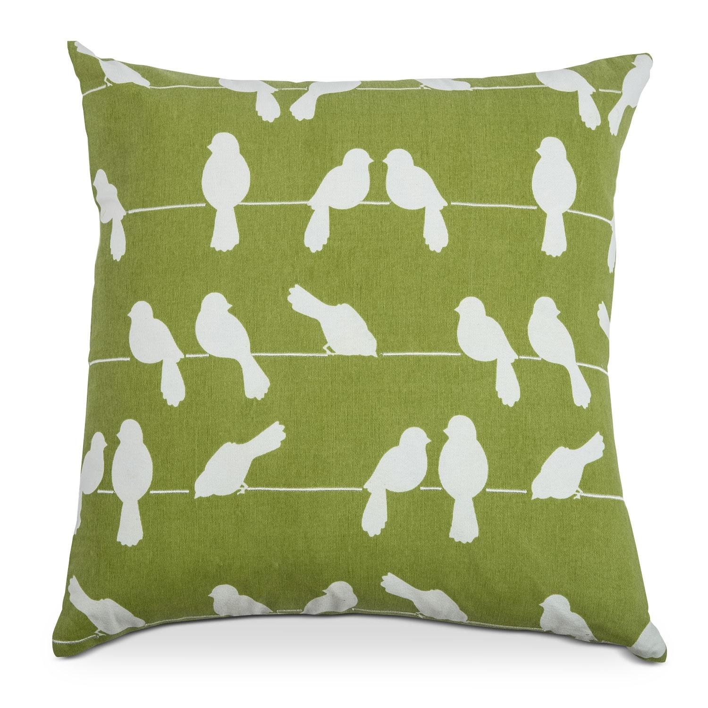 Madaline Marie White Decorative Pillow