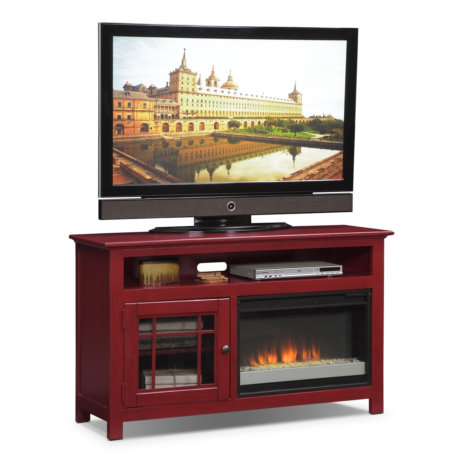 T V Stands Media Centers Value City Furniture And Mattresses # Table Tv Avec Porte Cd