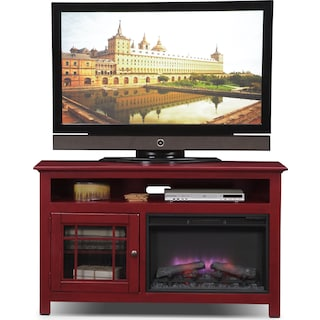 Merrick Fireplace TV Stand
