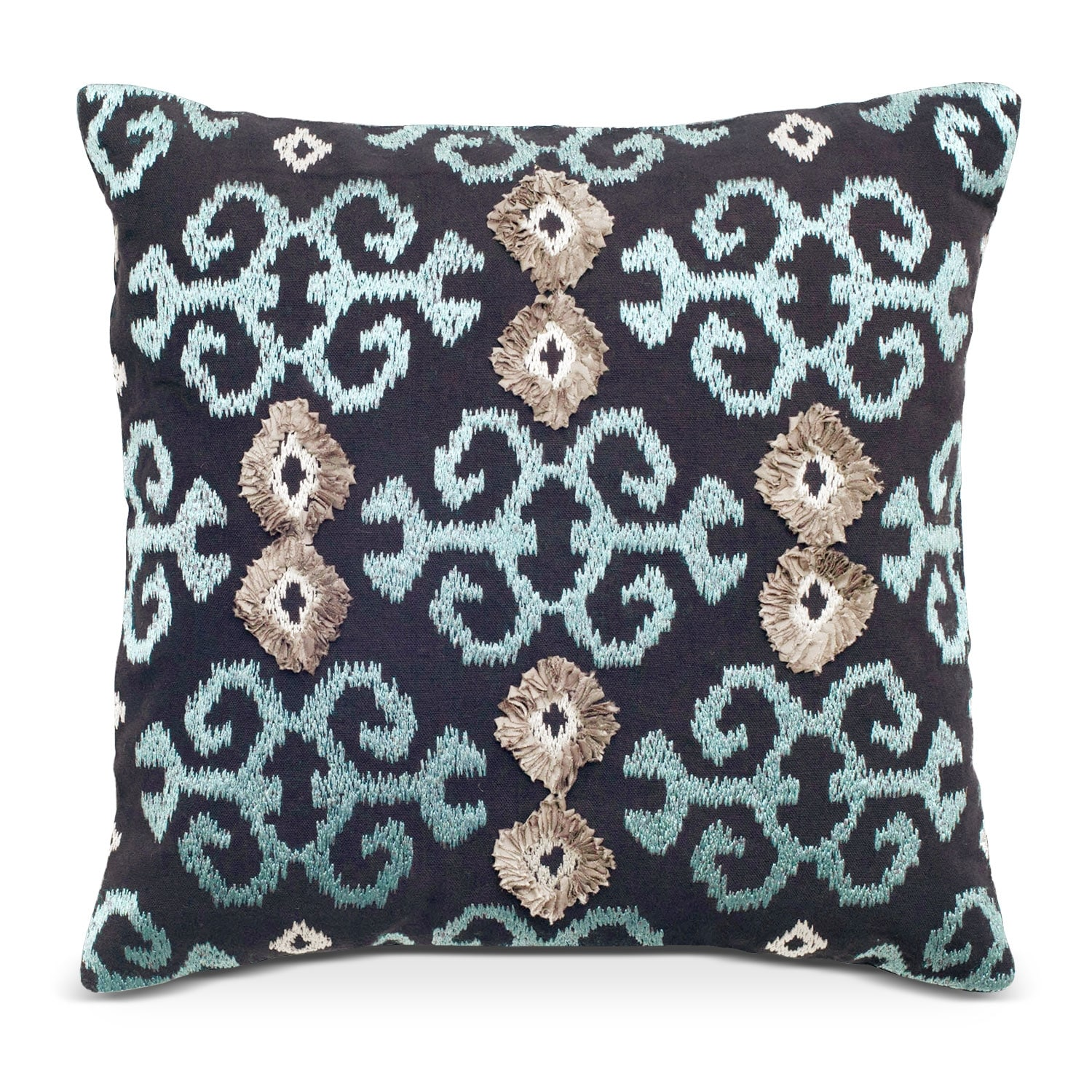 Accent and Occasional Furniture - Maddy Navy Decorative Pillow
