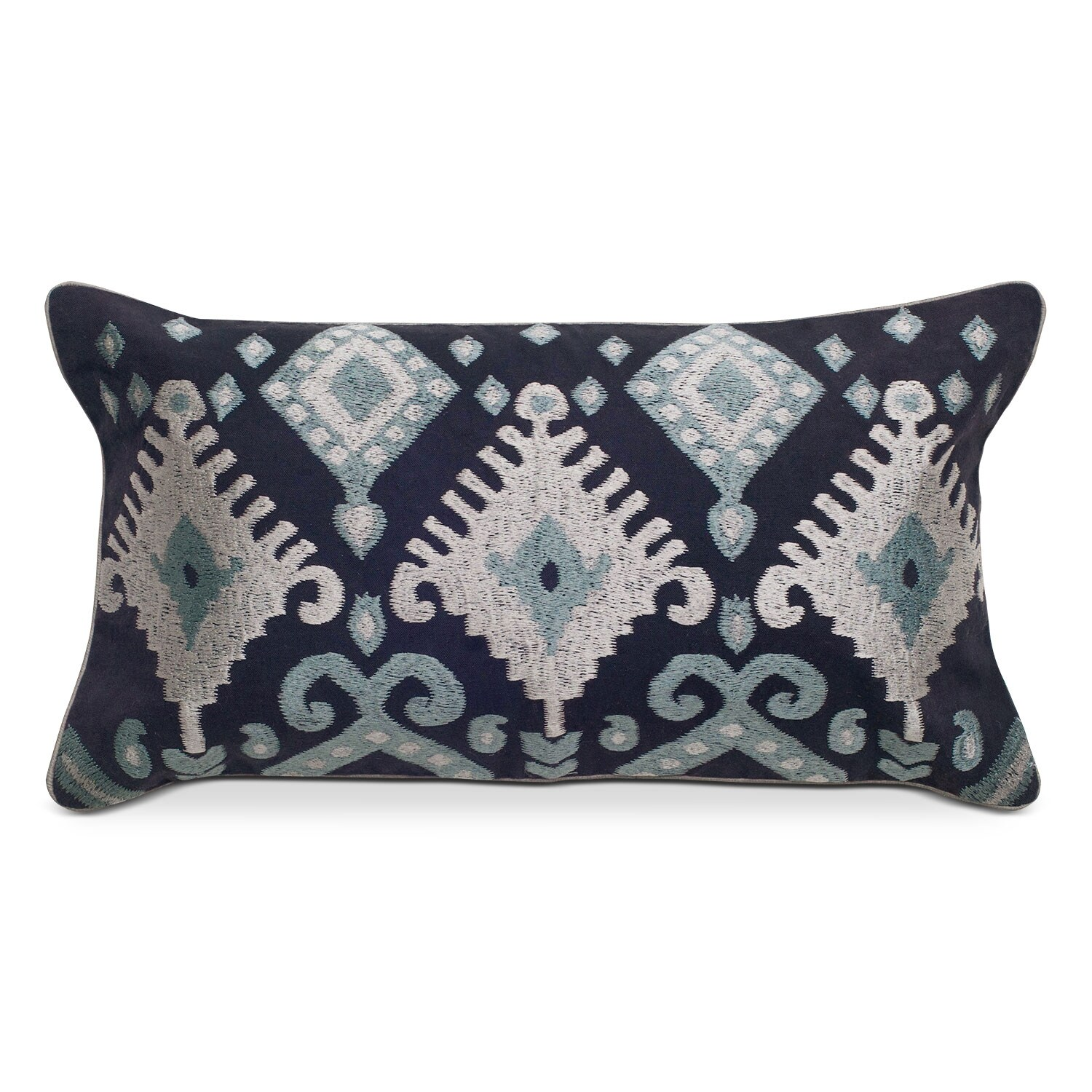 Accent and Occasional Furniture - Maddy Silver Decorative Pillow