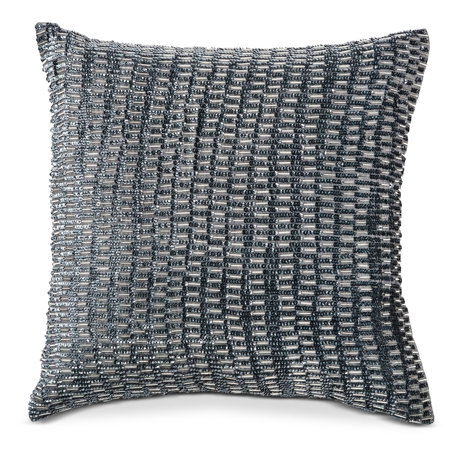 Accent and Occasional Furniture - Maddy Beaded Decorative Pillow