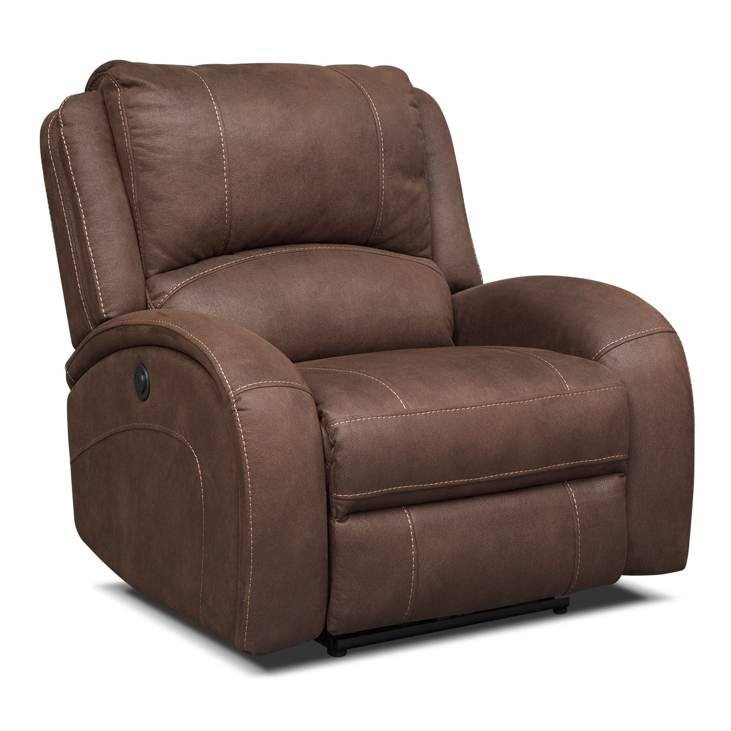 Ambrose Power Recliner - Brown